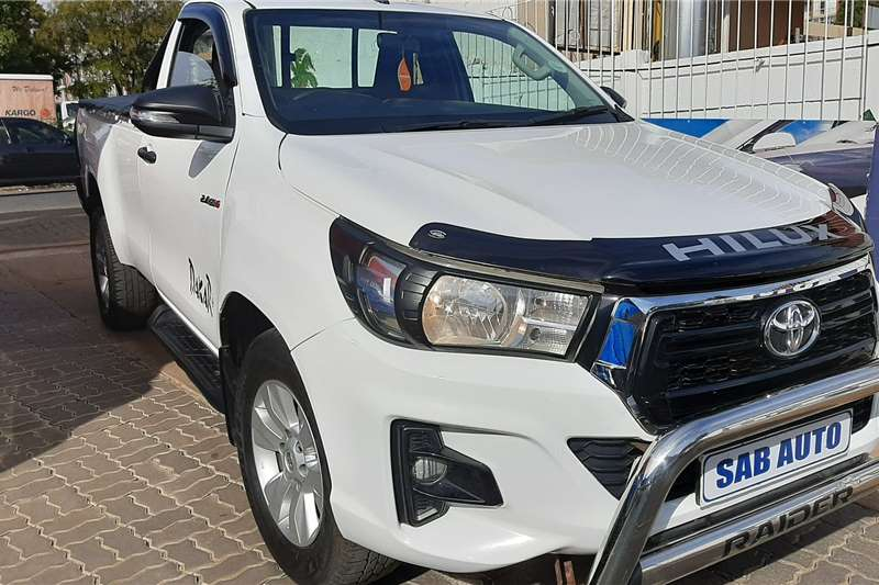 Toyota Hilux Single Cab HILUX 2.4 GD 6 SR P/U S/C 2018