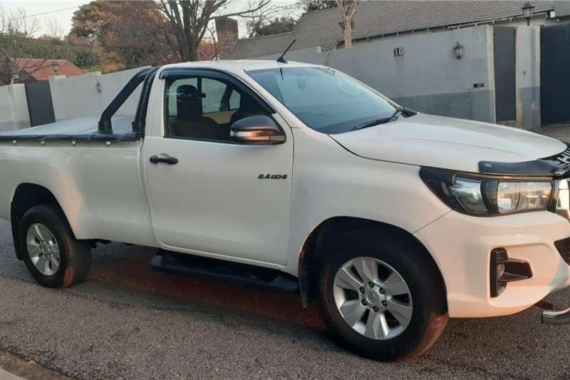 Toyota Hilux Single Cab HILUX 2.4 GD 6 SR P/U S/C 2018