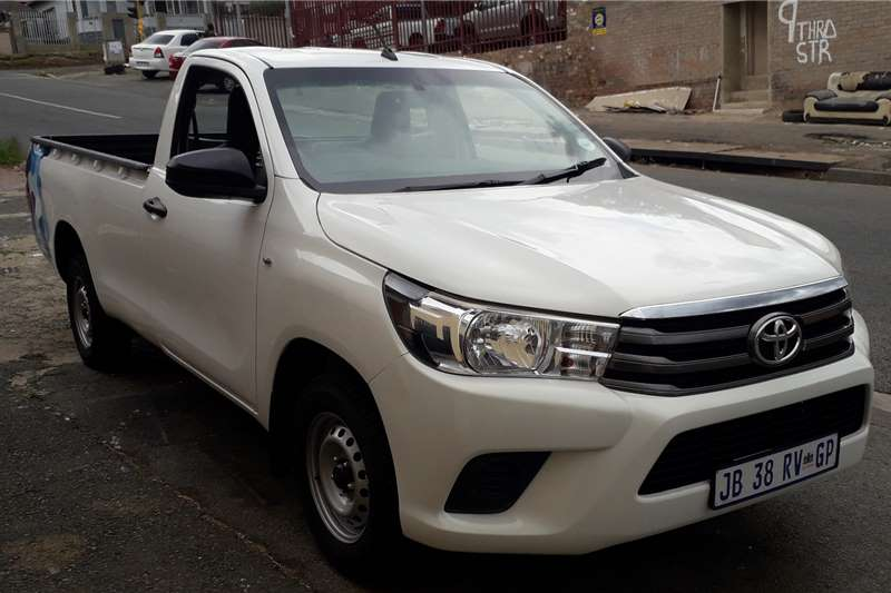 Toyota Hilux Single Cab HILUX 2.4 GD 6 SR P/U S/C 2019