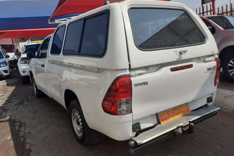 Toyota Hilux Single Cab HILUX 2.4 GD 6 SR P/U S/C 2019