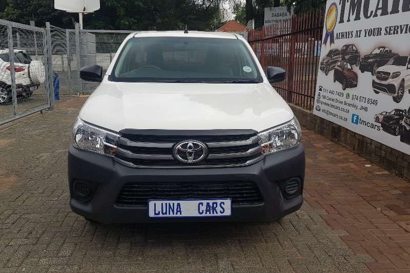 Toyota Hilux single cab HILUX 2.4 GD-6 SR P/U S/C 2019