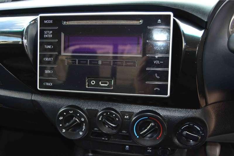 Toyota Hilux Single Cab HILUX 2.4 GD 6 SRX 4X4 P/U S/C 2018