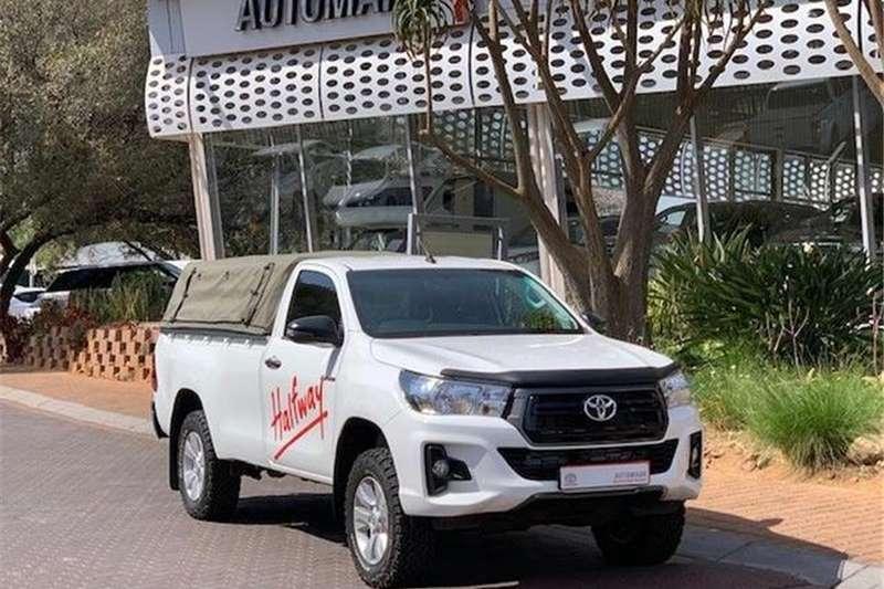 Toyota Hilux Single Cab HILUX 2.4 GD 6 SRX 4X4 P/U S/C 2019