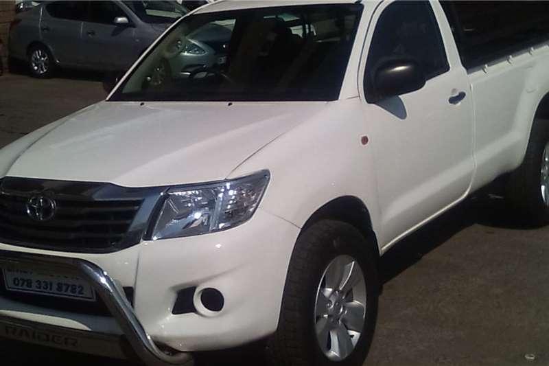 Used 2012 Toyota Hilux Single Cab HILUX 2.4 GD 6 SRX 4X4 P/U S/C A/T