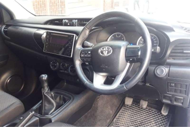 Toyota Hilux Single Cab HILUX 2.4 GD 6 SRX 4X4 P/U S/C A/T 2017