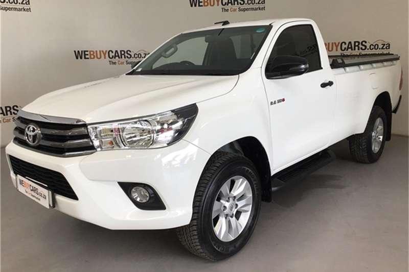 Toyota Hilux single cab HILUX 2.4 GD-6 SRX 4X4 P/U S/C A/T 2018