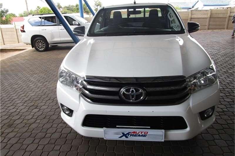 2018 Toyota Hilux single cab HILUX 2.4 GD-6 SRX 4X4 P/U S/C A/T