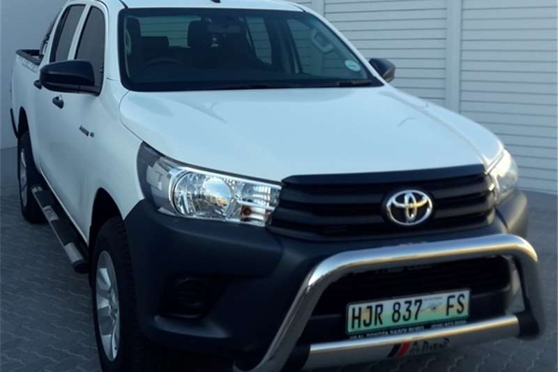 Toyota Hilux Single Cab HILUX 2.4 GD 6 SRX 4X4 P/U S/C A/T 2019