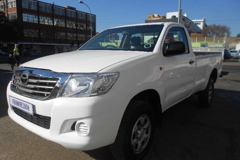 Used 2014 Toyota Hilux Single Cab HILUX 2.4 GD A/C P/U S/C