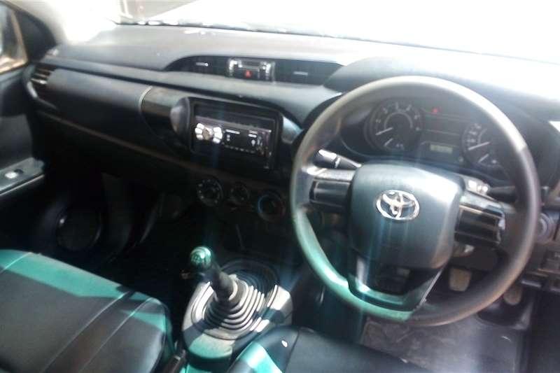 Used 2017 Toyota Hilux Single Cab HILUX 2.4 GD A/C P/U S/C