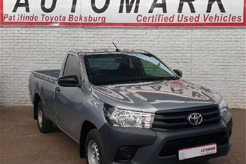 Toyota Hilux Single Cab HILUX 2.4 GD A/C P/U S/C 2018
