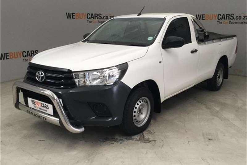 Toyota Hilux Single Cab HILUX 2.4 GD A/C P/U S/C 2019