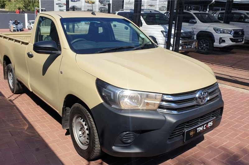 2019 Toyota Hilux single cab HILUX 2.4 GD A/C P/U S/C