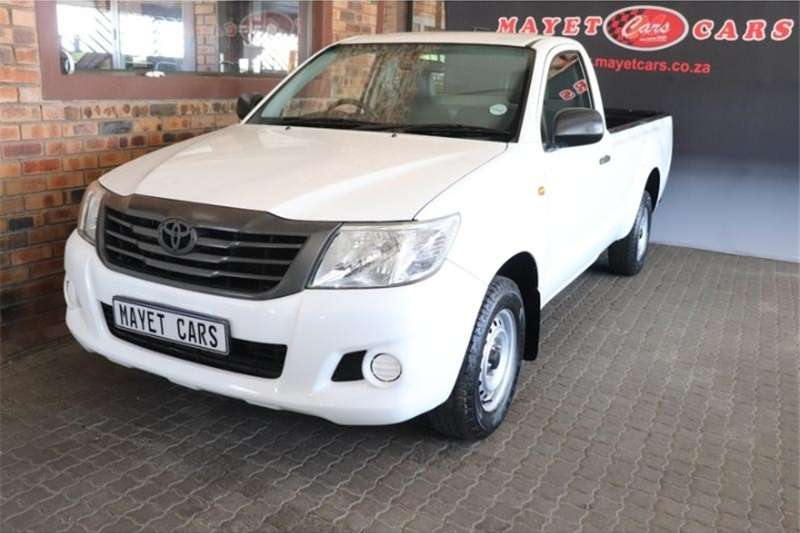 Toyota Hilux Single Cab HILUX 2.4 GD P/U S/C 2012