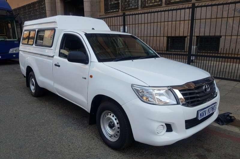 Toyota Hilux Single Cab HILUX 2.4 GD P/U S/C 2014
