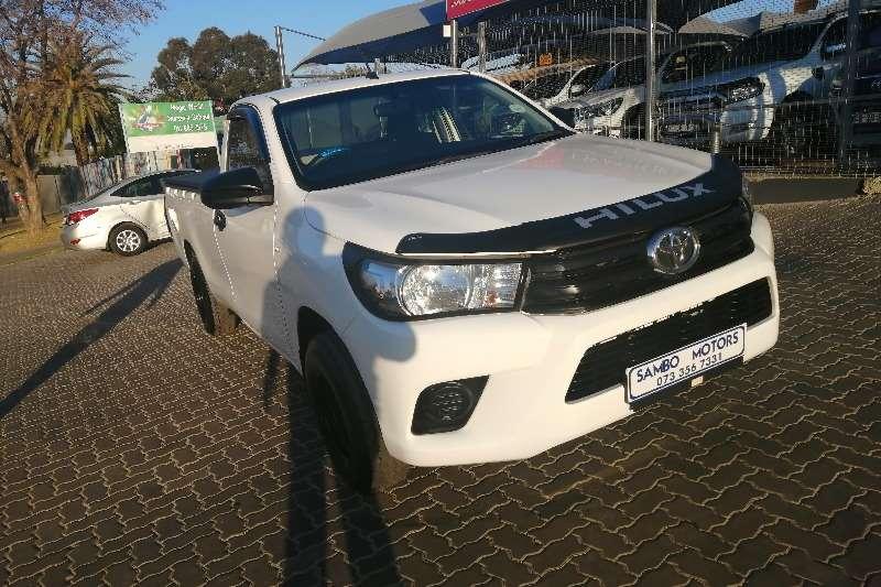 Used 2016 Toyota Hilux Single Cab HILUX 2.4 GD P/U S/C