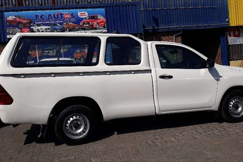 Used 2017 Toyota Hilux Single Cab HILUX 2.4 GD P/U S/C