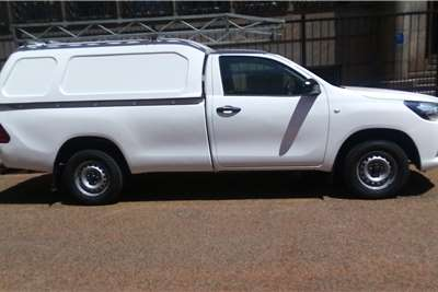 2017 Toyota Hilux single cab HILUX 2.4 GD P/U S/C