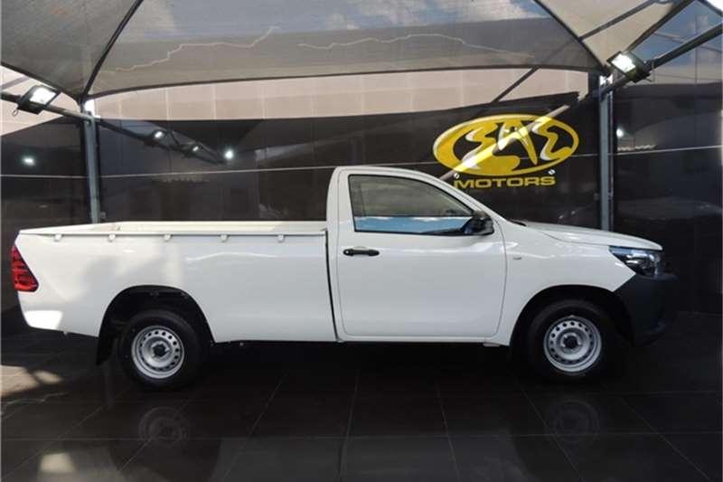 2021 Toyota Hilux single cab HILUX 2.4 GD S A/C P/U S/C