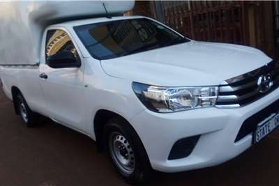 2019 Toyota Hilux single cab HILUX 2.4 GD S P/U S/C