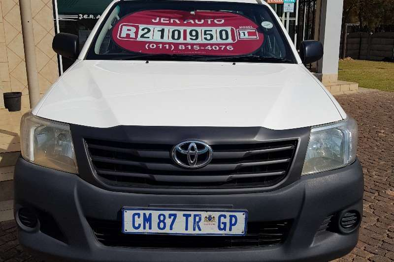 Toyota Hilux Single Cab Hilux 2.5 D4D SRX 4x4 2013