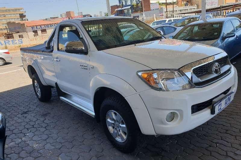 Used 2010 Toyota Hilux Single Cab HILUX 2.7 VVTi RB S P/U S/C