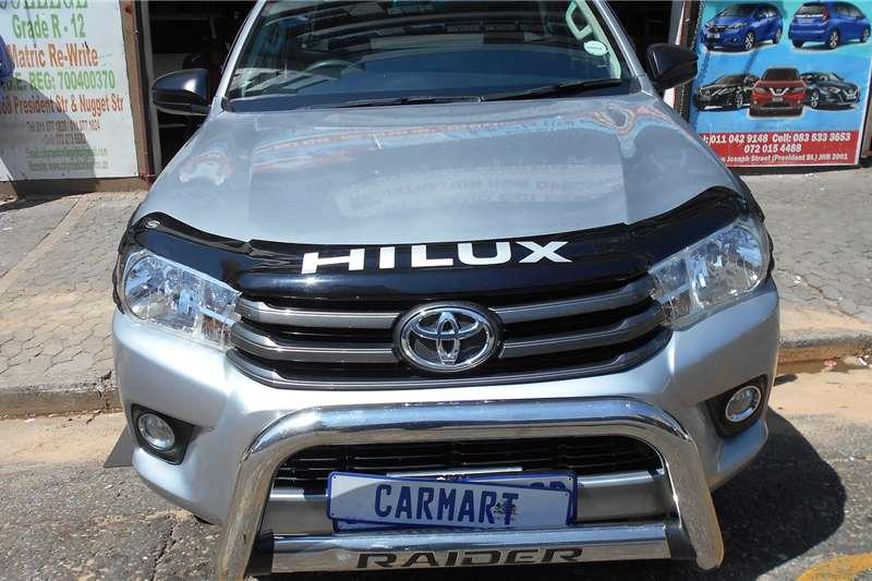 Toyota Hilux Single Cab HILUX 2.7 VVTi RB S P/U S/C 2017