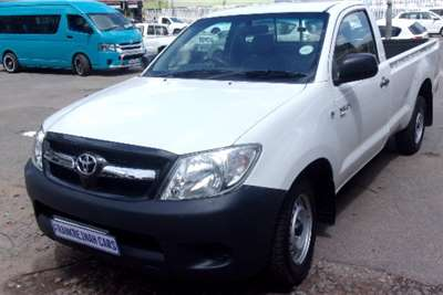 Used 2008 Toyota Hilux Single Cab HILUX 2.7 VVTi RB SRX P/U S/C
