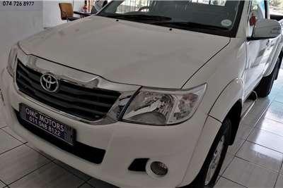 Used 2012 Toyota Hilux Single Cab HILUX 2.7 VVTi RB SRX P/U S/C