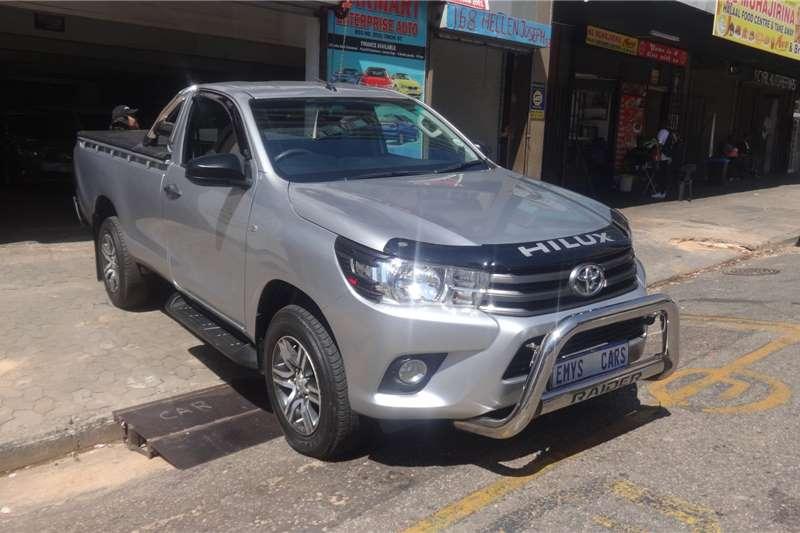 Toyota Hilux Single Cab HILUX 2.7 VVTi RB SRX P/U S/C 2017