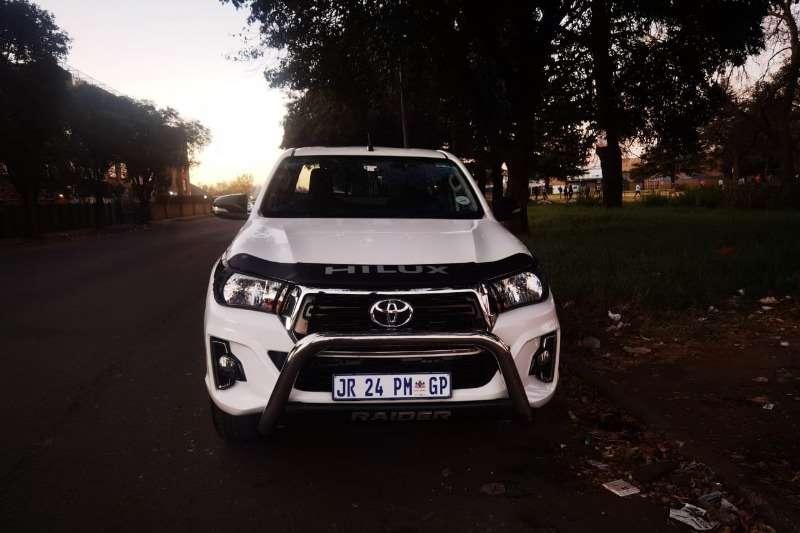 Used 2018 Toyota Hilux Single Cab HILUX 2.8 GD 6 RAIDER 4X4 A/T P/U S/C