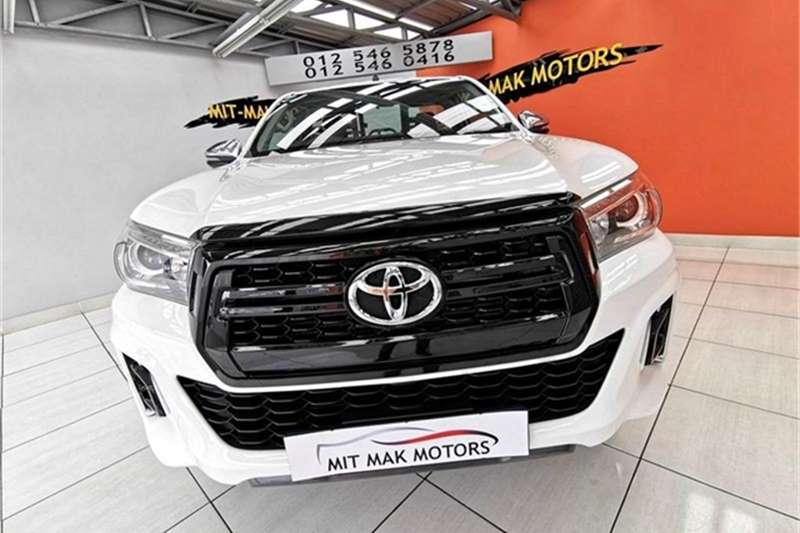 Toyota Hilux single cab HILUX 2.8 GD-6 RAIDER 4X4 P/U S/C A/T 2018