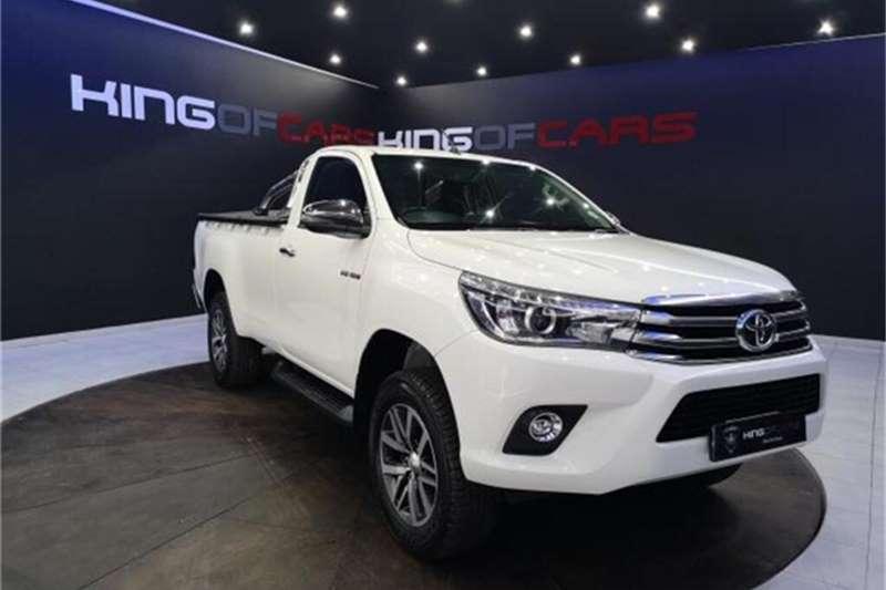 2018 Toyota Hilux single cab HILUX 2.8 GD-6 RB RAIDER A/T P/U S/C