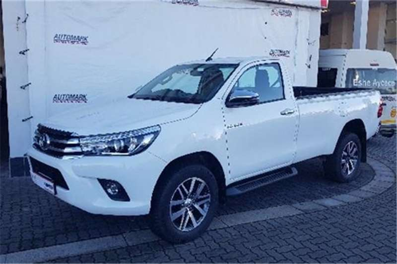 Toyota Hilux Single Cab HILUX 2.8 GD 6 RB RAIDER P/U S/C A/T 2018