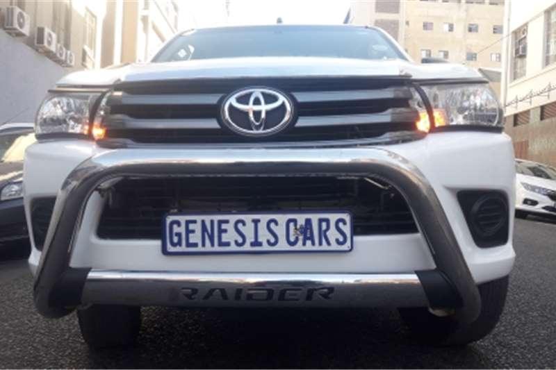 2017 Toyota Hilux single cab HILUX 2.7 VVTi RB SRX P/U S/C