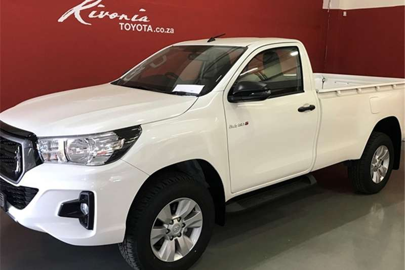 2019 Toyota Hilux single cab HILUX 2.4 GD 6 RB SRX P/U S/C