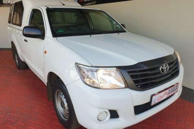 2013 Toyota Hilux single cab HILUX 2.0 VVTi P/U S/C