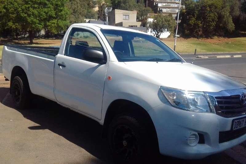 2014 Toyota Hilux single cab HILUX 2.7 VVTi RB SRX P/U S/C