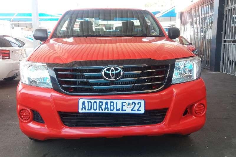2015 Toyota Hilux single cab HILUX 2.0 VVTi P/U S/C