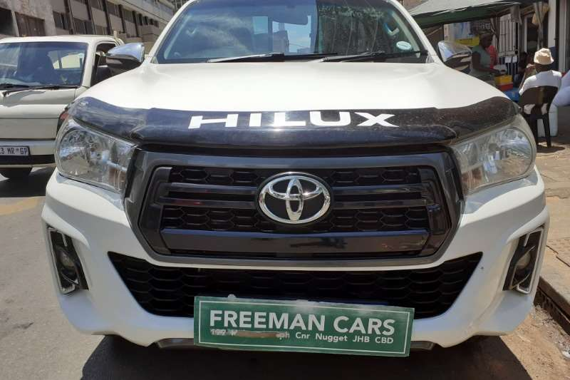2017 Toyota Hilux single cab HILUX 2.4 GD 6 RB SRX A/T P/U S/C