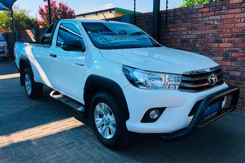 2018 Toyota Hilux single cab HILUX 2.4 GD 6 RB SRX P/U S/C