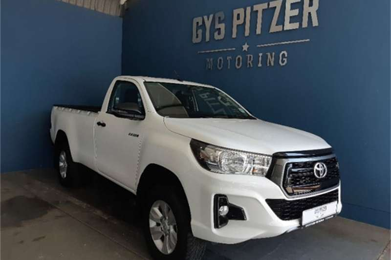 2019 Toyota Hilux single cab HILUX 2.4 GD 6 SRX 4X4 A/T P/U S/C