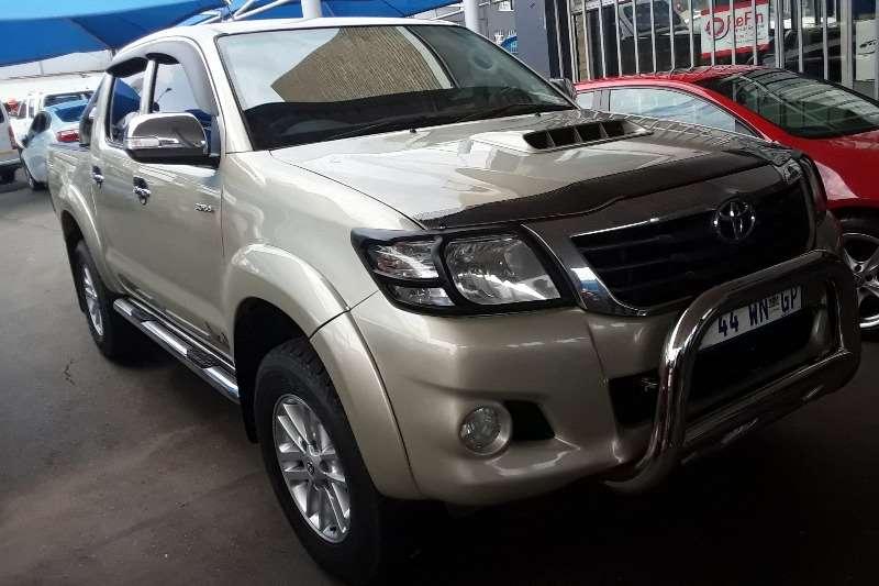 2014 Toyota Hilux single cab HILUX 2.4 GD 6 SRX 4X4 P/U S/C A/T
