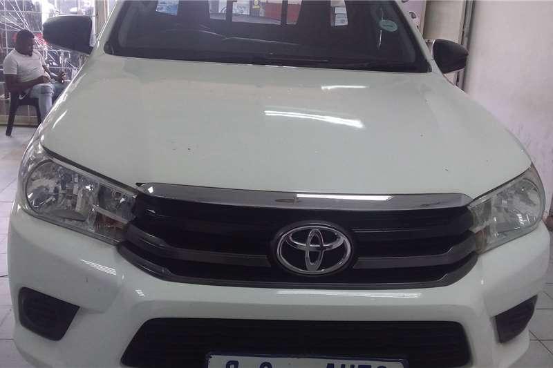 2017 Toyota Hilux single cab HILUX 2.4 GD A/C P/U S/C