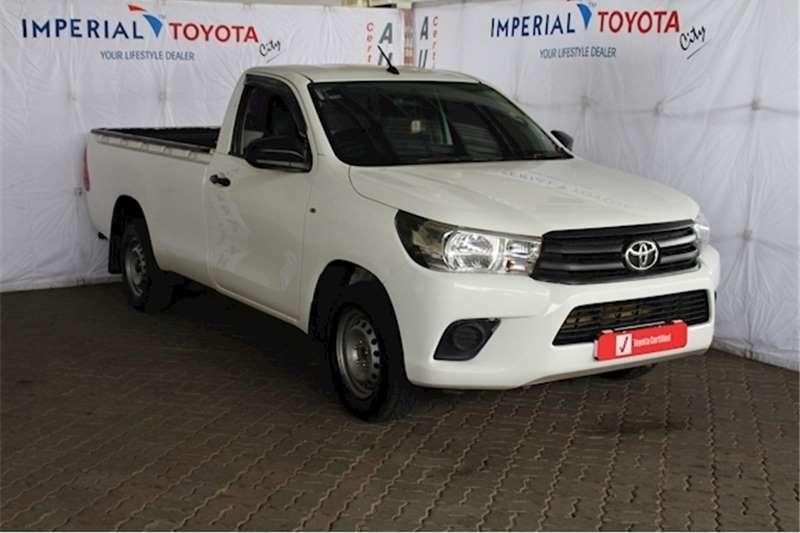 2018 Toyota Hilux single cab HILUX 2.4 GD A/C P/U S/C
