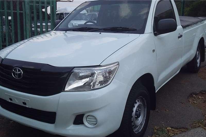 2012 Toyota Hilux single cab HILUX 2.7 VVTi RB S P/U S/C