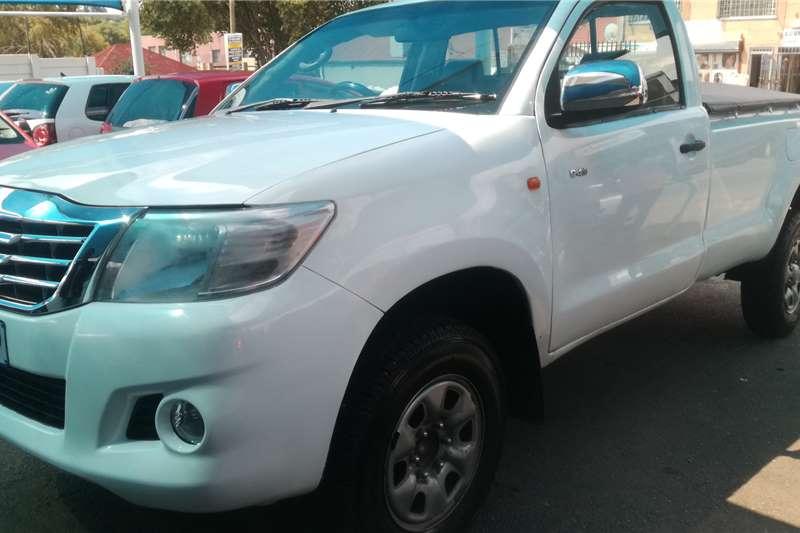 2015 Toyota Hilux single cab HILUX 2.4 GD 6 SR 4X4 P/U S/C