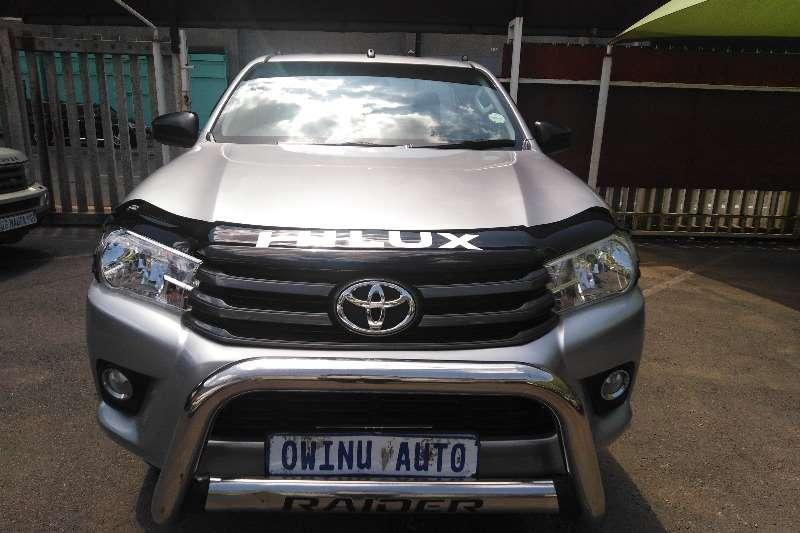 2018 Toyota Hilux single cab HILUX 2.7 VVTi RB SRX P/U S/C