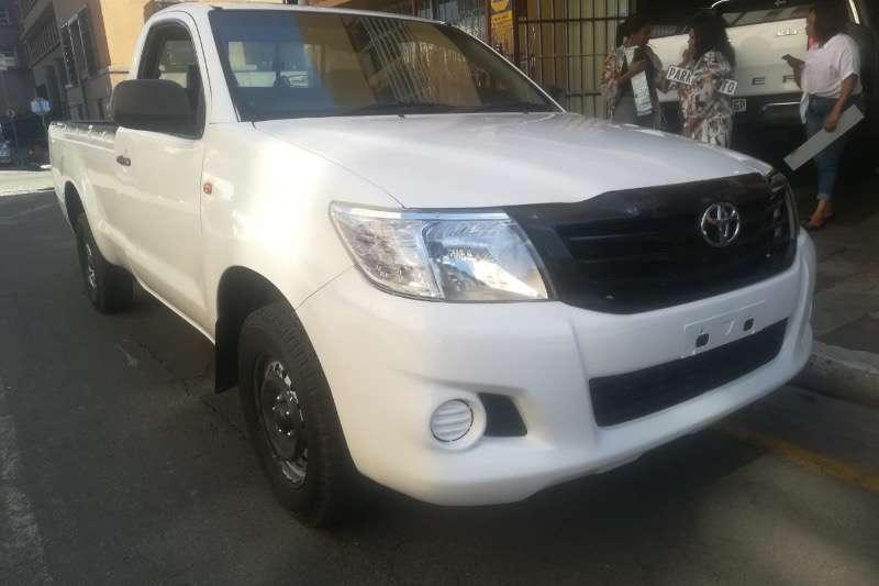2012 Toyota Hilux single cab HILUX 2.4 GD A/C P/U S/C
