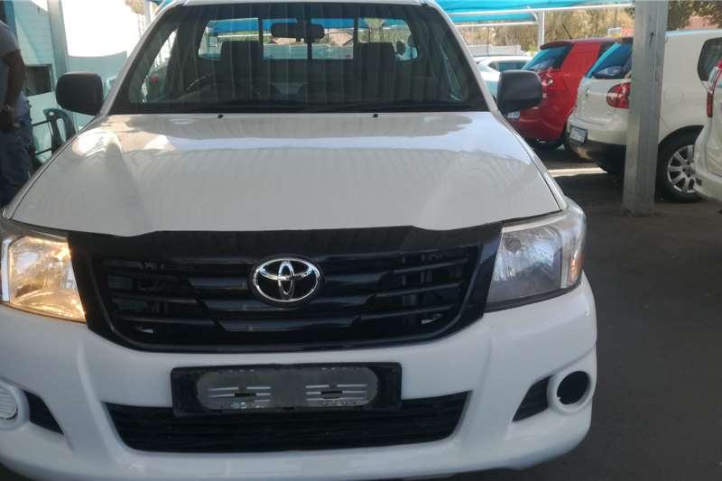 2012 Toyota Hilux single cab HILUX 2.4 GD P/U S/C
